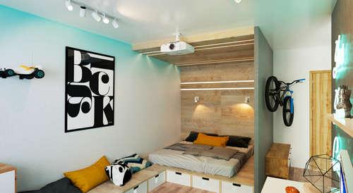 Babykamer muurstickers voor een scandinavische stijl