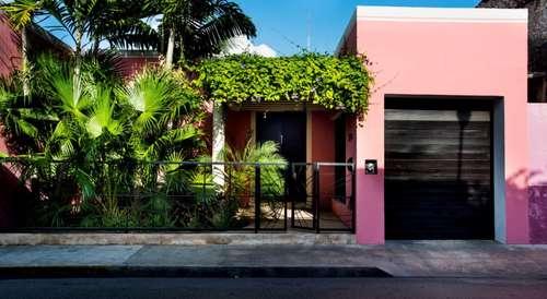 fachada casas de estilo moderno por taller estilo