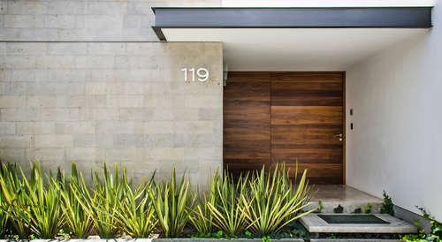 awesome diseos modernos de puertas de madera with puertas casa interior