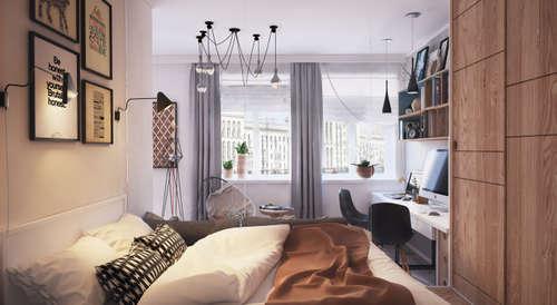 Progetti Camere Da Letto Piccole : Idee camera da letto piccola