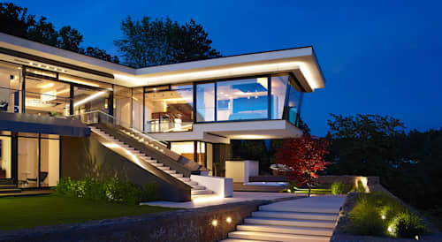 Imagenes de casas modernas fachadas de las casas ms for Casas modernas hollywood