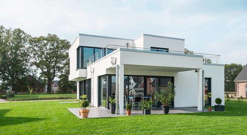 Cooles Einfamilienhaus Im Bauhausstil