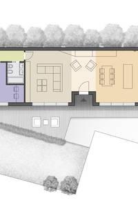 Il laboratorio recuperato: Case in stile in stile Moderno di CAFElab studio