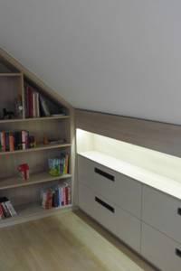 Dachgeschossausbau /Einbauschränke:   von TS Innenausbau GmbH Schreinerei