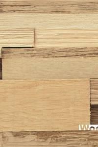 Wood4Walls | Invi Flat Oak:   door Nature at home | Cocomosaic | Wood4Walls