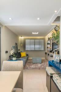 Livings Clean: Salas de jantar ecléticas por Lo. interiores
