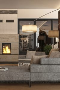 HOME SWEET HOME: styl , w kategorii Salon zaprojektowany przez Ludwinowska Studio Architektury