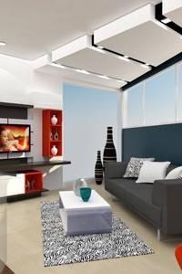 Soggiorno in stile in stile Minimalista di om-a arquitectura y diseño