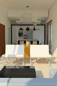 Salas de estar modernas por Tony Santos Arquitetura