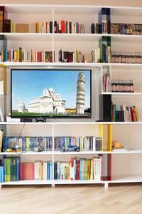 Libreria componibile skaffa: Soggiorno in stile in stile Moderno di Piarotto.com -  Mobilie snc