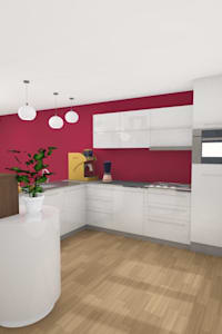 Aménagement cuisine: Cuisine de style de style Moderne par AeA - Architecture Eric Agro