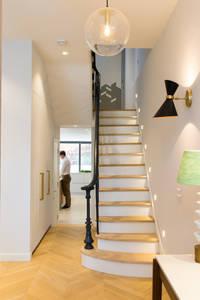 scandinavian Corridor, hallway & stairs by My-Studio Ltd