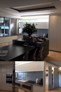 Kitchen Area: modern Kitchen by Cornerstone Projects