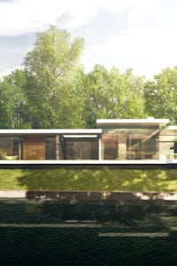 Riverside New Build in Oxfordshire: modern Houses by HollandGreen