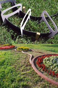 Flexible Schalung für Geraden und Rundungen aus Beton:   von arcotec  Haus und Garten