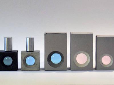 Parfumflakons aus Beton:   von IONDESIGN GmbH