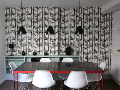 industrial Dining room by am alexandra magne