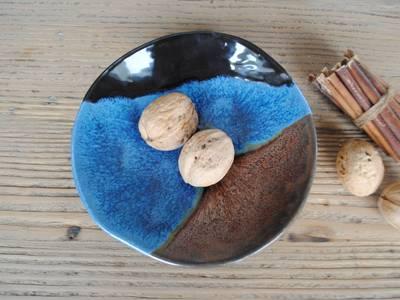 Ayşe Şakarcan Ceramics – 3 Renkli Tabak:  tarz