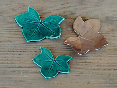 Ayşe Şakarcan Ceramics – Yaprak Tabaklar:  tarz