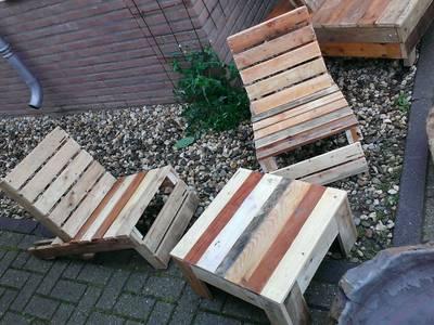 pallet meubels te huur:   door Funky furniture