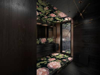 Łazienka Bisazza: styl , w kategorii Łazienka zaprojektowany przez BAJOR&ORLIKOWSKA PRACOWANIA ARCHITEKTURY WNĘTRZ