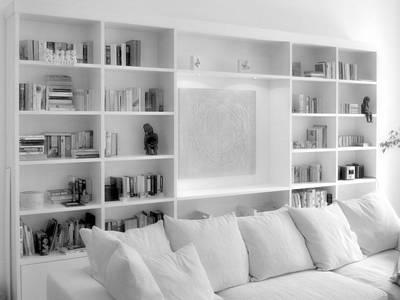Wohnzimmerregal:   von Daniel Renken 'gestaltung + innenausbau'