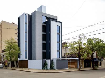 EDIFICIO DE OFICINAS: Estudios y oficinas de estilo moderno por D'Odorico Arquitectura & Obras