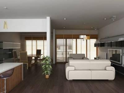 Projekty,  Salon zaprojektowane przez OLLIN ARQUITECTURA