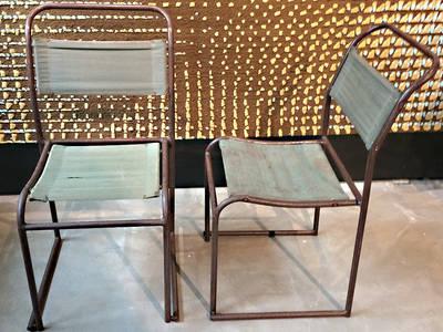 Bruno Pollak Stühle:   von RICCIO