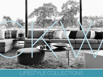 Cover images: modern Living room by CKW Lifestyle