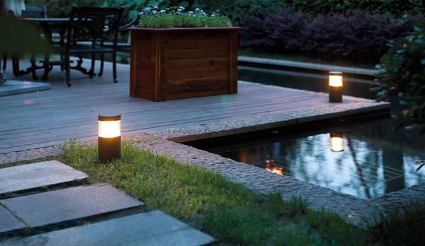 Idee illuminazione giardino homify