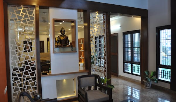 Dr.Z.S.u0027s Residential House: Modern Living Room By DESIGNER GALAXY