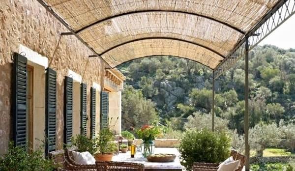 Verjas de madera para jardin laminas de madera blanca y - Vallados y jardines ...