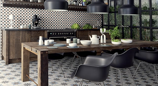 Leuke Keuken Wandtegels : Inrichten met planten leuke tegels keuken naar mooie keuken