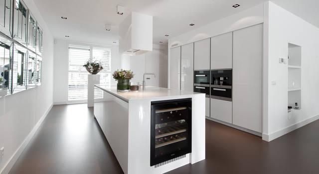 Witte keukens homify