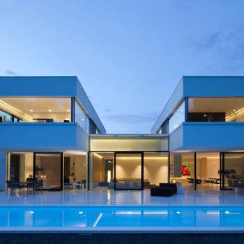 Villa Germany: moderne Häuser von HI-MACS®