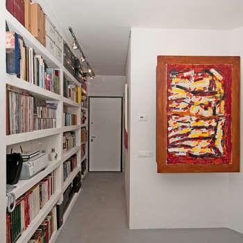 Ristrutturazione di un appartamento in Roma – 70 mq: Ingresso & Corridoio in stile  di Fabiola Ferrarello architetto