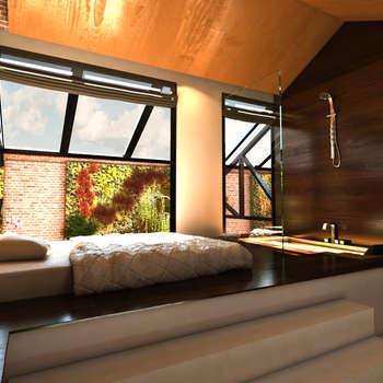 Chambre de style de style Moderne par Luis Vegas