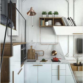 Кухонный гарнитур: Кухни в . Автор – ToTaste.studio