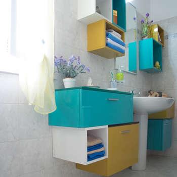 eclectische Badkamer door Arreda Progetta di Alice Bambini