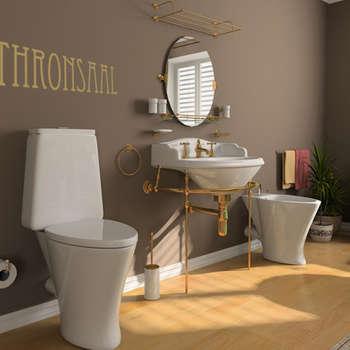 Salle de bain de style de style eclectique par K&L Wall Art