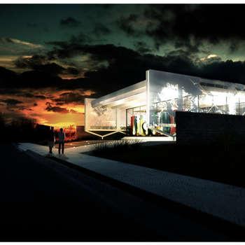 Maisons de style de style Moderne par MOB Arquitetos