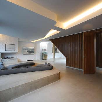 Patalab Architecture: modern tarz Oturma Odası