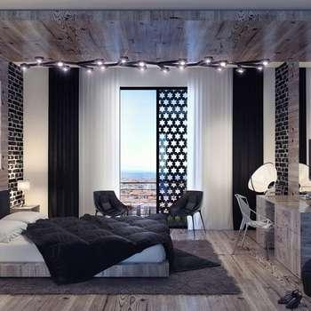 Mass Architects – A1 Residence Penthouse: modern tarz Yatak Odası