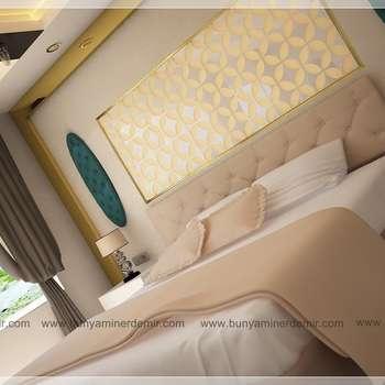 Bünyamin ERDEMİR Tasarım ve Uygulamaが手掛けた寝室