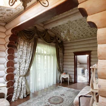 дом на берегу: Стены и полы в . Автор – Ожогин Сергей