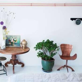 koperen buizen: moderne Slaapkamer door IJzersterk interieurontwerp