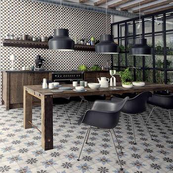 Ceramica Fioranese Cementine: mediterrane Keuken door Badkamer & Tegels magazine