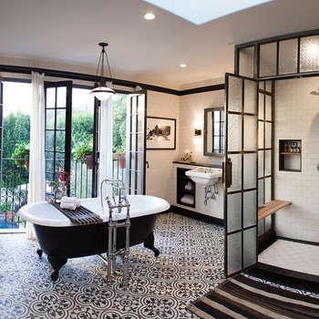 Drummonds : modern tarz Banyo
