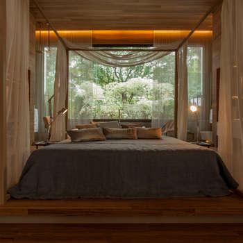 Chambre de style de style Moderne par Denise Barretto Arquitetura